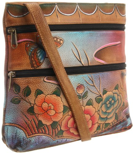 Anuschka 447 PRA Cross Body