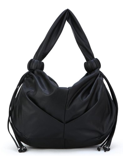 Scarleton Tassel Accent Hobo Bag H1356