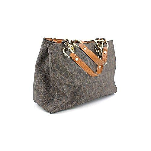 Michael Kors Cynthia Medium Satchel Sig PVC Women's Handbag