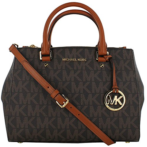 Michael Kors Sutton Medium Satchel N/S Travel Tote Handbag