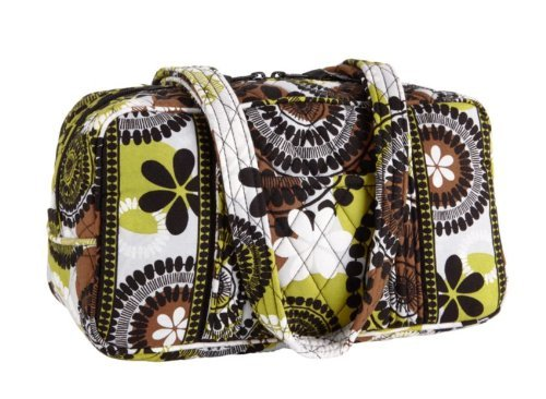 Vera Bradley 100 Handbag Cocoa Moss