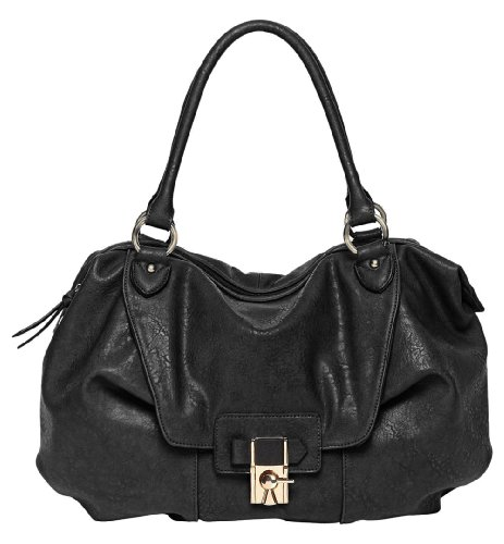 V Couture By Kooba Daniella Satchel, Womens Handbag, Black, One Size
