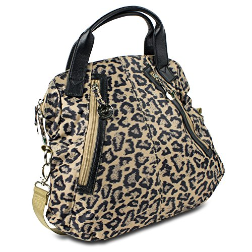 Travelon Tote w/ Front Pockets (Leopard)