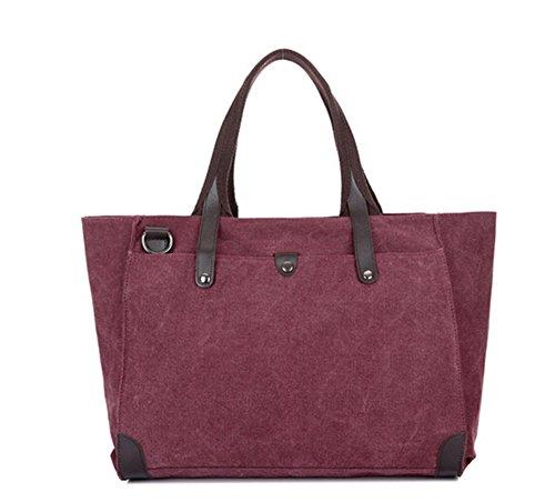 KISS GOLD(TM) Retro Canvas Fashion European StyleTote Handbag Hobo Bag Shoulder Bag