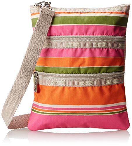 LeSportsac Kasey Cross-Body Handbag,Bahia Stripe,One Size