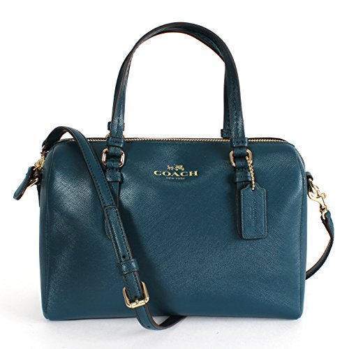 Coach Peyton Bennett Mini Satchel Crossbody Bag 50430 Peacock