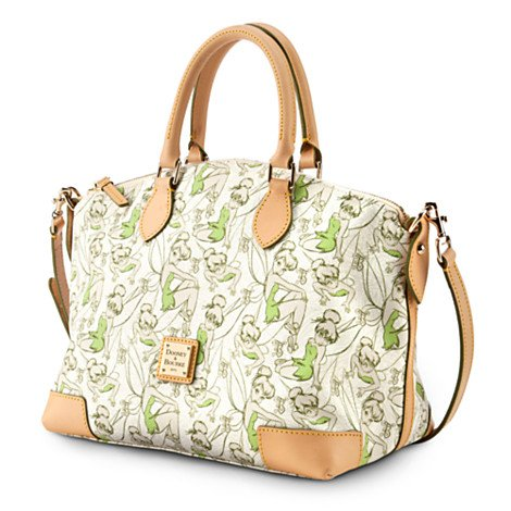 Disney Dooney & Bourke Half Tinker Bell 2014 Half Marathon Satchel/Shoulder Bag Purse