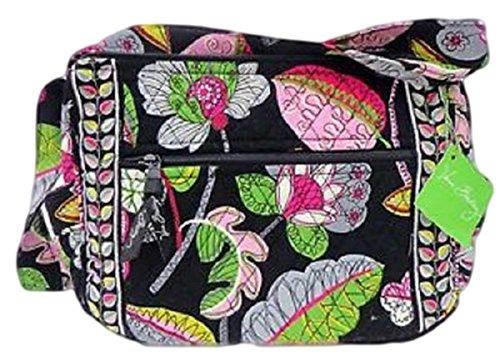 Vera Bradley On the Go Shoulder Hobo Style Handbag in Moon Blooms