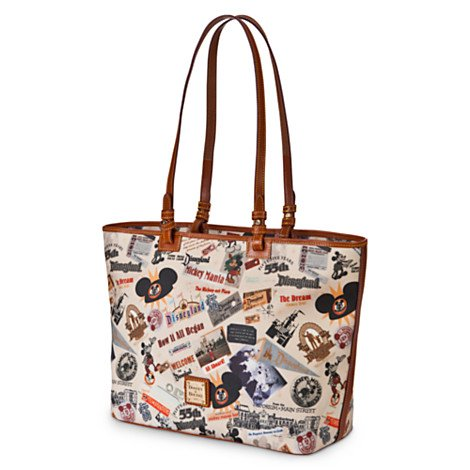 Disneyland Shopper Bag & Wristlet By Dooney & Bourke