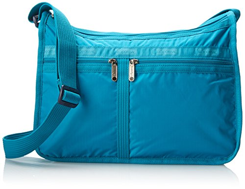 LeSportsac Deluxe Everyday Handbag,Turquoise,One Size