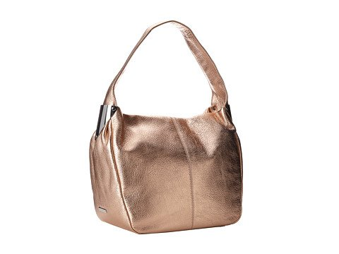 Vince Camuto Gracie Metallic Leather Hobo, Pale Blush