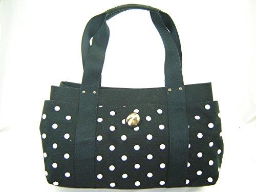 Tommy Hilfiger Medium Iconic Satchel Handbag Black Multi