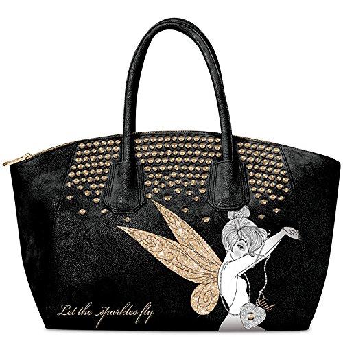 Handbag: Let The Sparkles Fly Tinker Bell Handbag by The Bradford Exchange