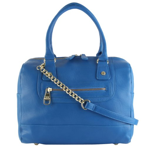 Steve Madden Sanders Satchel Bag- Cobalt