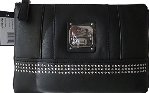 Guess NAPA Evening Bag Pouch Handbag Black