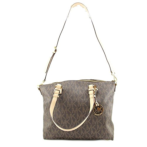 Michael Kors Jet Set Item MultiFunction Womens Leather Satchel