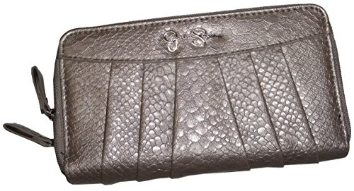 Jessica Simpson Patty Pewter Wallet Clutch