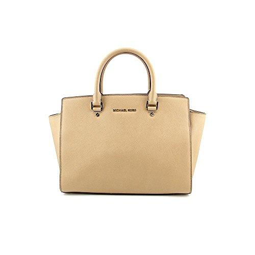 Michael Kors Selma Women's Large TZ Satchel Handbag Purse