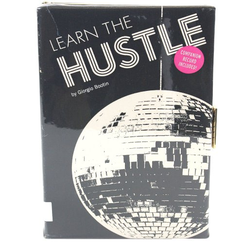 Kate Spade Disco Nap Emanuelle Learn to Hustle Book Clutch