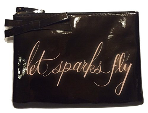 Kate Spade Let Sparks Fly Georgie Case Patent Clutch iPad Case PWRU3301