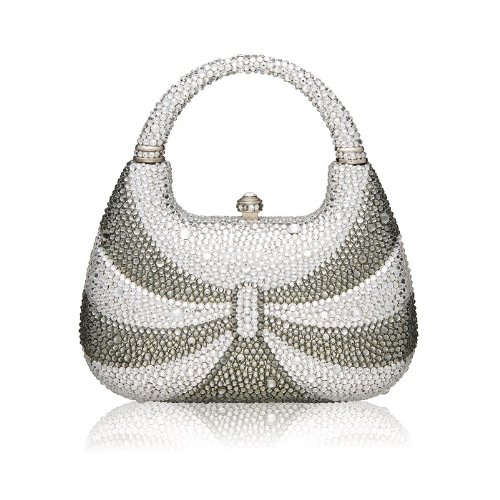 Crystal Handbag Minaudiere Crystal Clutch