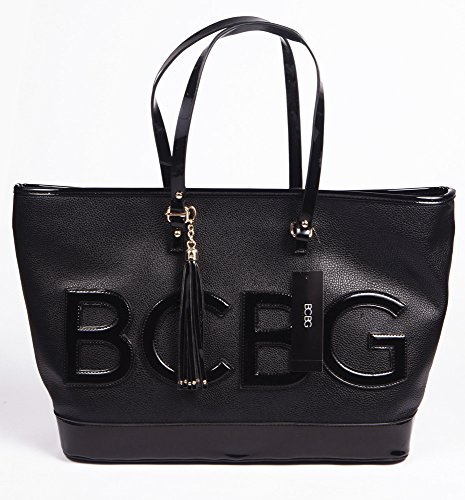 BCBG PARIS Handbag Embossed story Tote, Stylish Bag, Regular Size, 2015 Collection[Apparel],Available on different Colors