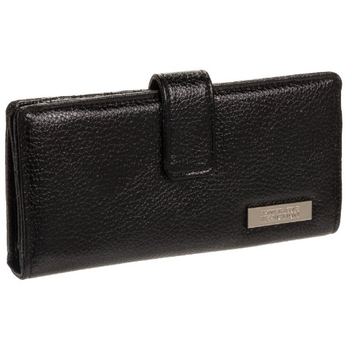 Kenneth Cole Reaction Womens Slim Snap Clutch Wallet