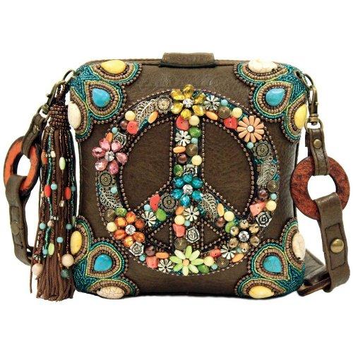 Mary Frances Peace Out Handbag