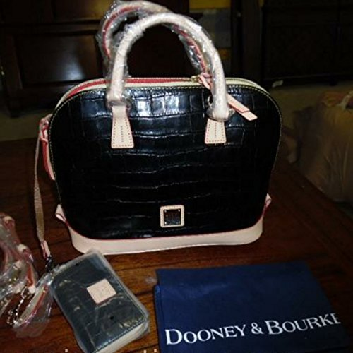 Dooney and Bourke Handbag (Black) with Matching Wallet and Coinpurse