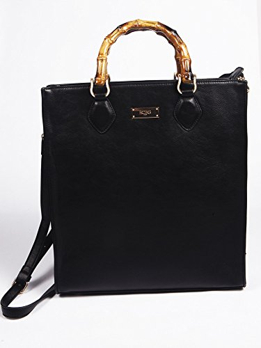 BCBG PARIS Handbag Bamboo Story Pochette Bag,Stylish Bag, Regular Size, 2015 Collection[Apparel],Available on different Colors