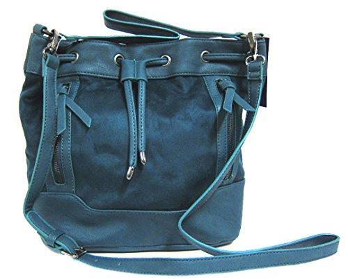 Madden Girl by Steve Madden MGBRISTL Crossbody Bag, Teal