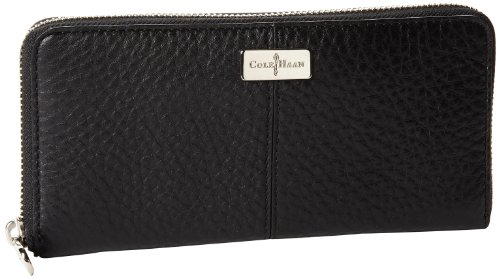 Cole Haan Village Travel Zip B41501 Wallet,Black,One Size