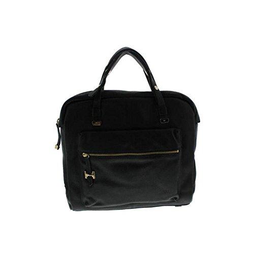 Halston Heritage Womens Leather Shopper Tote Handbag