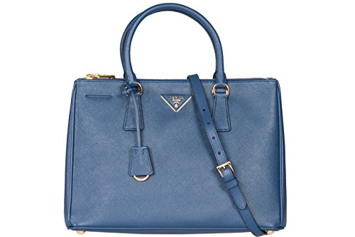 Prada BN2274 Authentic Bag – Navy Blue Bluette Saffiano Lux Calf Leather Handbag