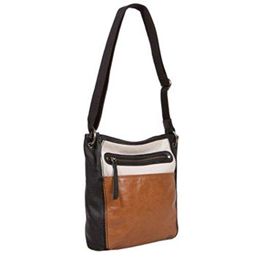 The Sak Stone Multi Leather Adjustable Crossbody Handbag