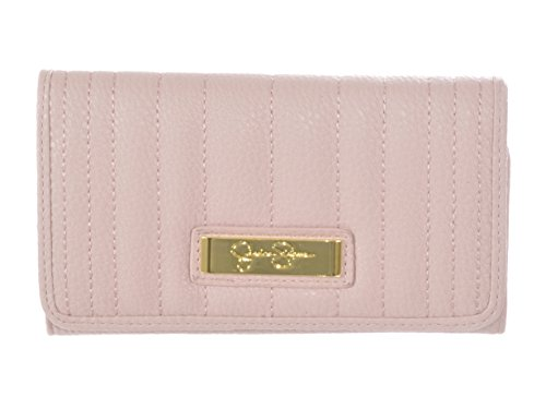 Jessica Simpson Theresa Lotus Pink Trifold Womens Wallet Clutch