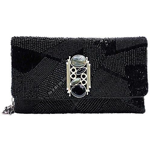 Mary Frances Ebony Handbag