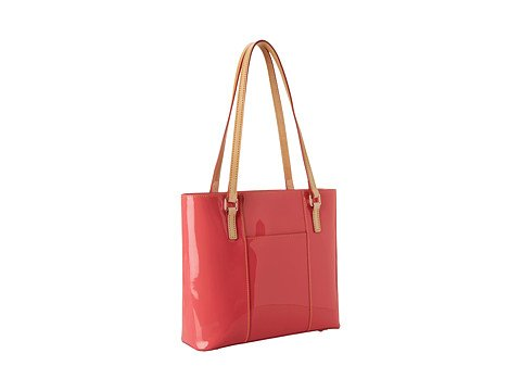 Dooney & Bourke Small Patent Lexington Shopper (BUBBLE GUM)