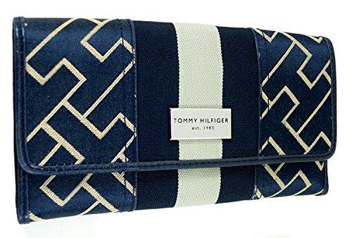 Tommy Hilfiger Womens Wallet – Navy Blue & Tan