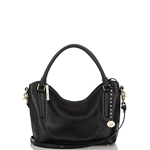 NEW AUTHENTIC BRAHMIN NORAH CONVERTIBLE SHOULDER TOTE (Black Nepal)