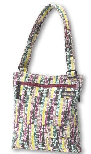 KAVU Tea Cup Shoulder Bag, Autumn Trellis, 10 x 12-Inch