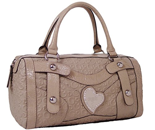 Guess Thurman Satchel Bag Handbag Purse (TAUPE)
