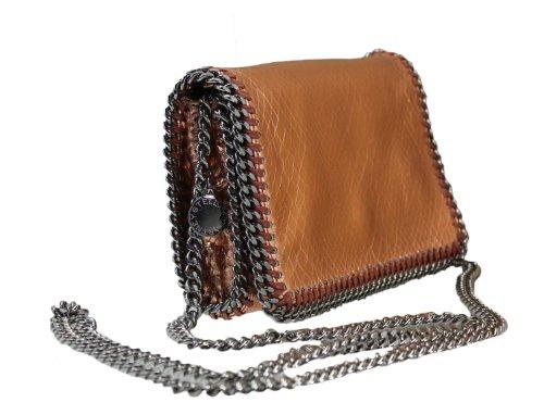 Stella McCartney Falabella Python Faux Leather Cross Body/clutch Handbag