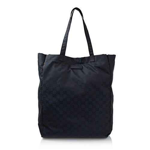 Gucci Mama's Bag 281487 Navy Nylon Gg Logo Tote Bag
