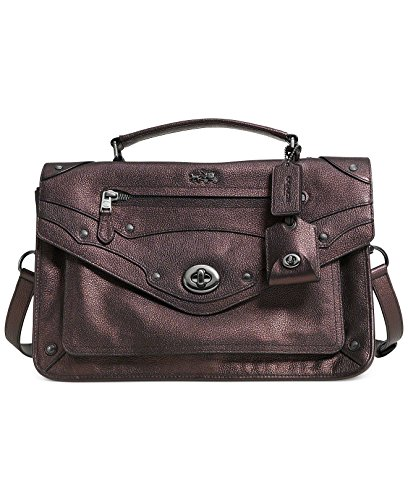 Coach Grain Leather Rhyder 33 Satchel Shoulder Bag #33738