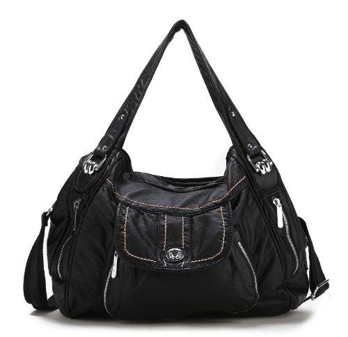 Scarleton Front Pocket Accent Shoulder Bag H1379