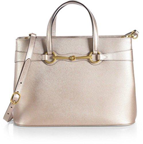 Gucci Women Handbag Horsebit Top Handle Tote Cross Body Bag