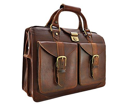 Rawlings American Handcrafted Lawyer Satchel Bag