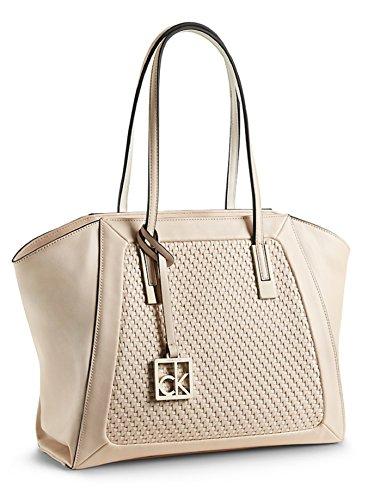 Calvin Klein Nicole City Shopper Tote Shoulder Bag Handbag Satchel (Silk)