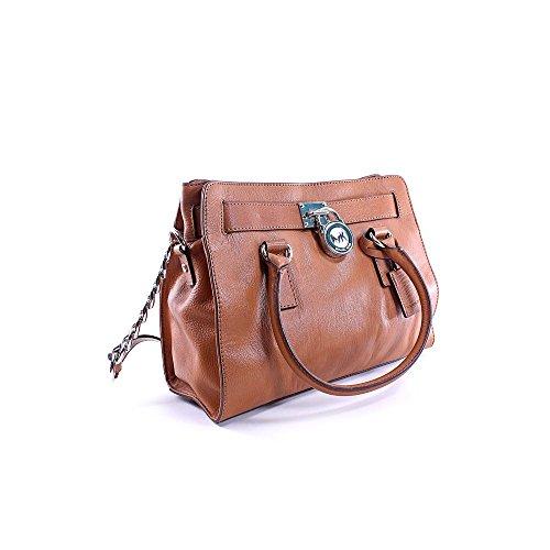 Michael Kors Small Hamilton Womens Leather Satchel